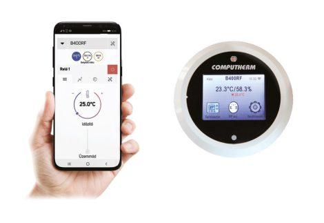 B400 RF Wi-Fi mobil szobatermosztát
