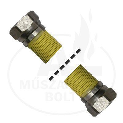 """Flexibilis gázcső 3/4"""" BB 750 - 1500 mm"""
