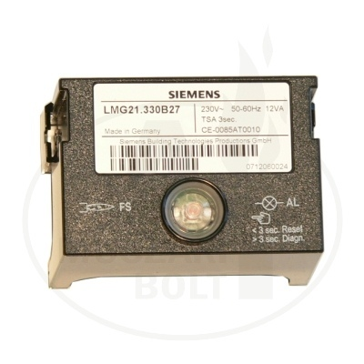 Landis-Siemens LME21.330C2 LMG 21. helyett